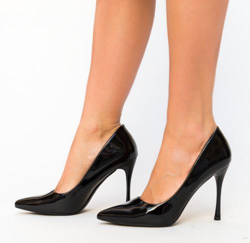 Pantofi Arav Negri - Pantofi eleganti - Pantofi cu toc subtire