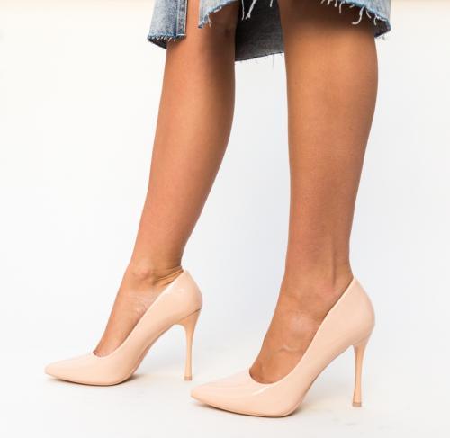 Pantofi Arav Nude - Pantofi eleganti - Pantofi cu toc subtire