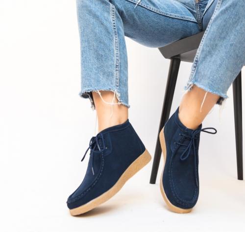 Pantofi Casual Melta Bleumarin - Incaltaminte casual femei - Pantofi casual