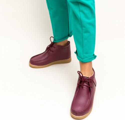 Pantofi Casual Munela Grena - Incaltaminte casual femei - Pantofi casual