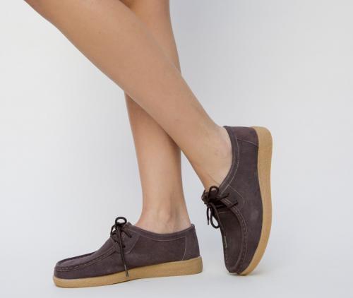 Pantofi Casual Neca Maro - Incaltaminte casual femei - Pantofi casual