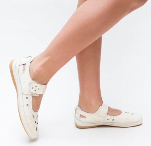 Pantofi Casual Nuva Bej - Incaltaminte casual femei - Pantofi casual