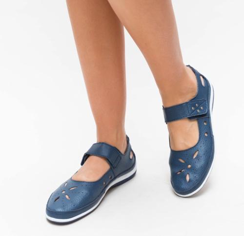 Pantofi Casual Nuva Bleumarin - Incaltaminte casual femei - Pantofi casual