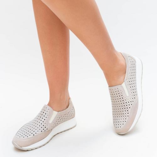 Pantofi Casual Olda Bej - Incaltaminte casual femei - Casual
