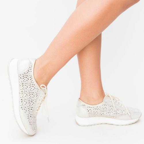 Pantofi Casual Pova Aurii - Incaltaminte casual femei - Pantofi casual