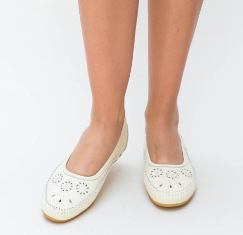 Pantofi Casual Ruba Bej - Incaltaminte casual femei - Pantofi casual