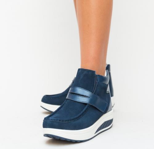 Pantofi Casual Rumby Bleumarin - Incaltaminte casual femei - Pantofi casual
