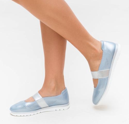 Pantofi Casual Vetin Albastri - Incaltaminte casual femei - Pantofi casual