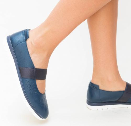 Pantofi Casual Vetin Bleumarin - Incaltaminte casual femei - Pantofi casual