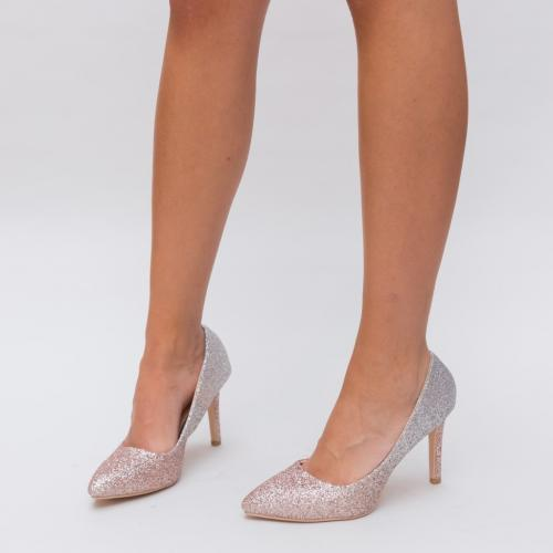 Pantofi Givisa Aurii 2 - Pantofi eleganti - Pantofi cu toc subtire