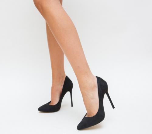 Pantofi Kimis Negri 2 - Pantofi eleganti - Pantofi cu toc subtire