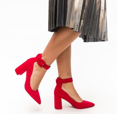 Pantofi Loga Rosii - Pantofi eleganti - Pantofi cu toc gros