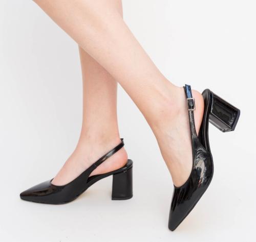 Pantofi Nona Negri - Pantofi eleganti - Pantofi cu toc gros