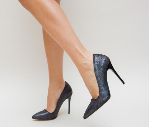 Pantofi Siesto Negri - Pantofi eleganti - Pantofi cu toc subtire