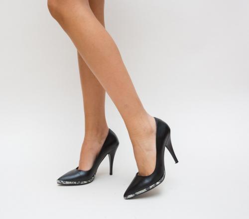 Pantofi Sifo Negri - Pantofi eleganti - Pantofi cu toc subtire