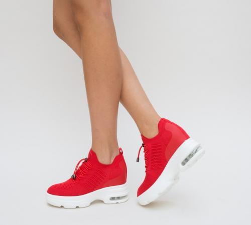 Pantofi Sport Austro Rosii - Incaltaminte sport dama -