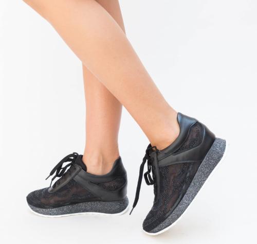 Pantofi Sport Bingo Negri - Incaltaminte sport dama -