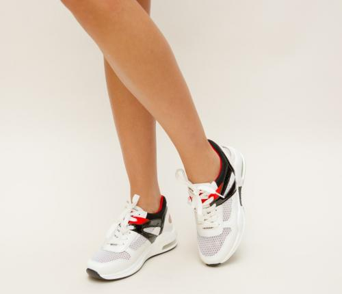 Pantofi Sport Deora Albi 2 - Incaltaminte sport dama -
