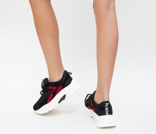 Pantofi Sport Deria Rosii - Incaltaminte sport dama -