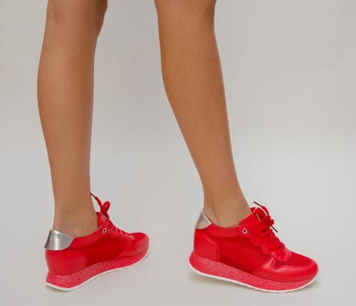 Pantofi Sport Dexter Rosii - Incaltaminte sport dama -