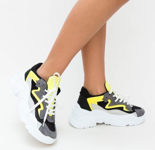 Pantofi Sport Elsev Negri - Incaltaminte sport dama -