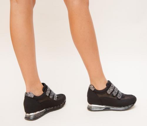 Pantofi Sport Kingo Gri - Incaltaminte sport dama -