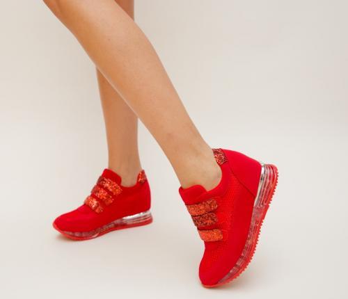 Pantofi Sport Kingo Rosii - Incaltaminte sport dama -