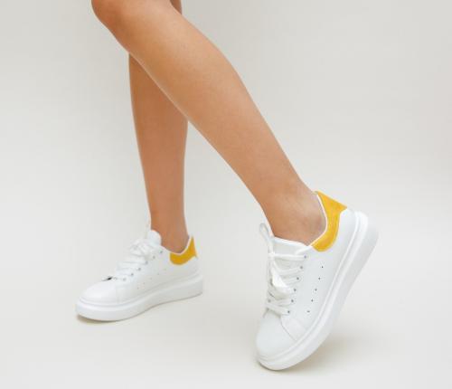 Pantofi Sport Lidoma Galbeni - Incaltaminte sport dama -