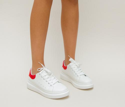Pantofi Sport Lidoma Rosii - Incaltaminte sport dama -