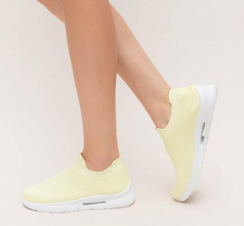 Pantofi Sport Meril Galbeni - Incaltaminte sport dama -