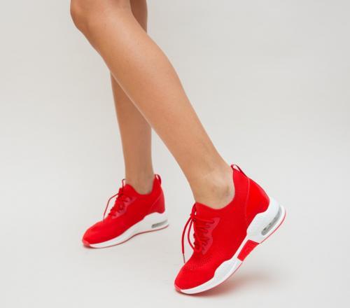 Pantofi Sport Nona Rosii - Incaltaminte sport dama -