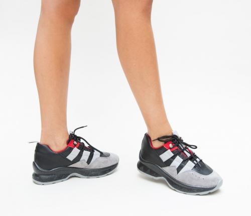 Pantofi Sport Perla Negri - Incaltaminte sport dama -
