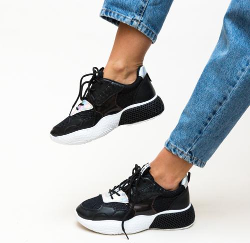 Pantofi Sport Sanaya Negri - Incaltaminte sport dama -