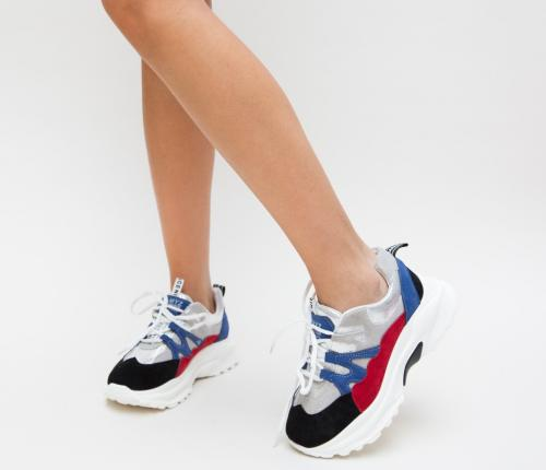 Pantofi Sport Seva Rosii - Incaltaminte sport dama -