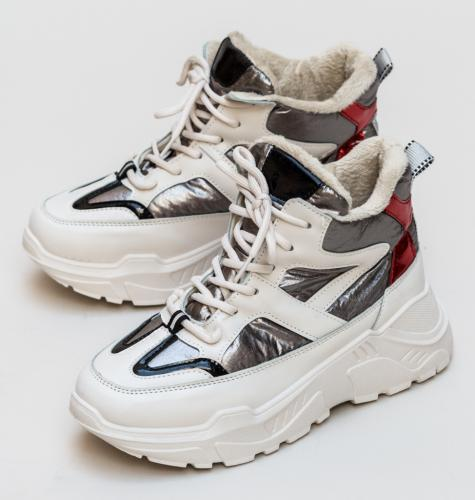 Pantofi Sport Sterha Gri - Incaltaminte sport dama -