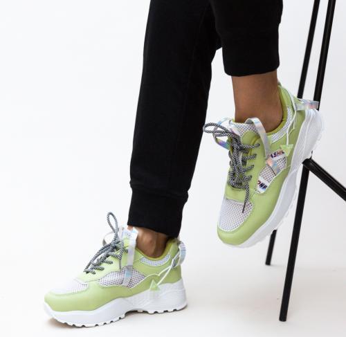 Pantofi Sport Vishal Verzi - Incaltaminte sport dama -