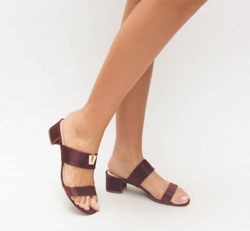 Sandale Bioda Maro - Sandale dama ieftine - Sandale cu toc mic