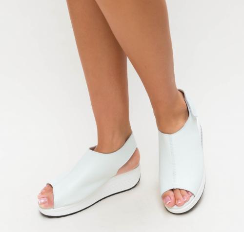 Sandale Hola Albe - Sandale dama ieftine - Sandale cu platforma