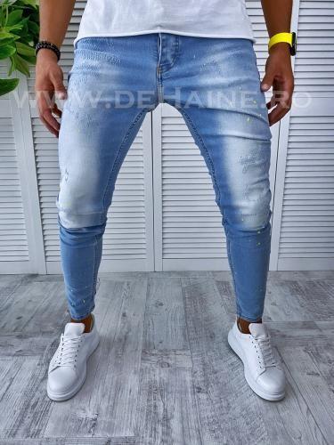 Blugi barbati conici B2482 H8-5 - Pantaloni barbati - Blugi barbati