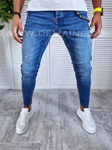 Blugi barbati conici B2492 G3-1 - Pantaloni barbati - Blugi barbati