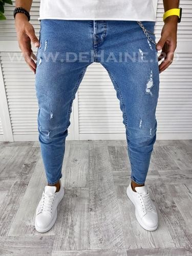 Blugi barbati conici B2540 M - Pantaloni barbati - Blugi barbati