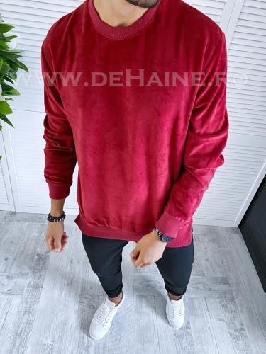 Bluza barbati grena slim fit 2662 N5-4 - Bluze barbatesti -