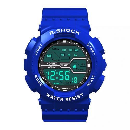Ceas barbati albastru HONHX B4002 CU1 - Ceasuri barbatesti -