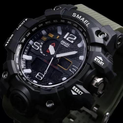 Ceas barbati negru SMAEL B3807 CU1 - Ceasuri barbatesti -