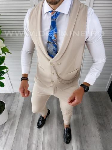 Compleu barbati Vesta + Pantaloni B1470 - Costume barbatesti -