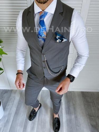 Compleu barbati Vesta + Pantaloni B4049 - Costume barbatesti -