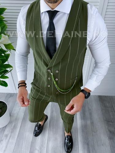 Compleu barbati Vesta + Pantaloni B4094 43-4 - Costume barbatesti -