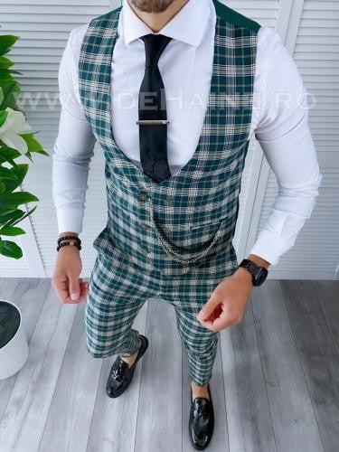 Compleu barbati Vesta + Pantaloni B4098 - Costume barbatesti -