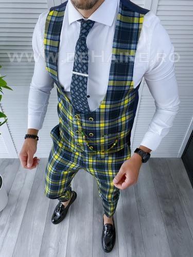 Compleu barbati Vesta + Pantaloni B4118 - Costume barbatesti -