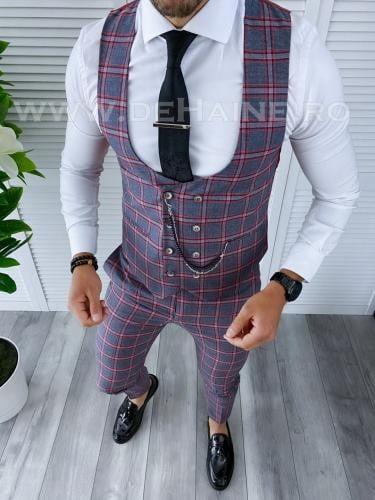 Compleu barbati Vesta + Pantaloni B4147 - Costume barbatesti -